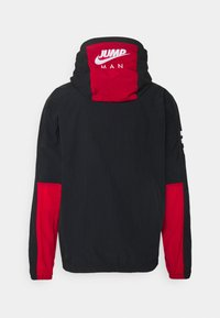 Jordan - Windbreaker - black/gym red/white - 1