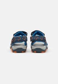 LICO - GOMERA  - Walking sandals - marine/blau/orange - 2