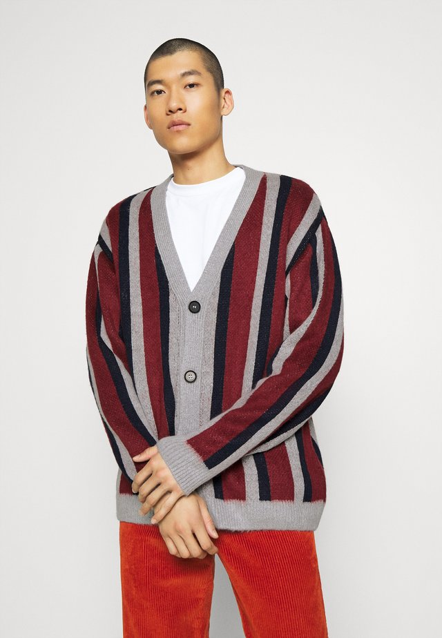VERTICAL - Cardigan - burgundy