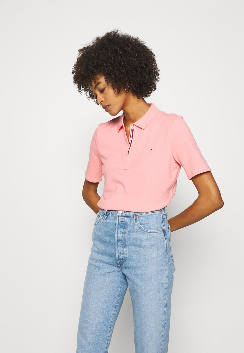 Tommy Hilfiger - ESSENTIAL - Polo - watermelon pink