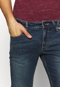 Volcom - Slim fit jeans - dark blue denim - 5