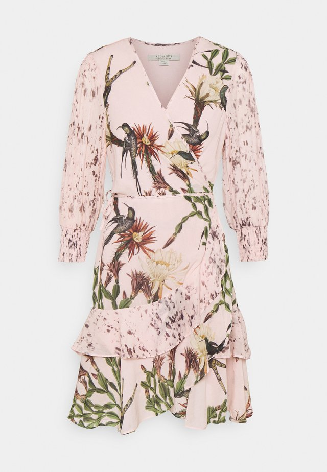 ARI NOLINA DRESS - Korte jurk - clay pink