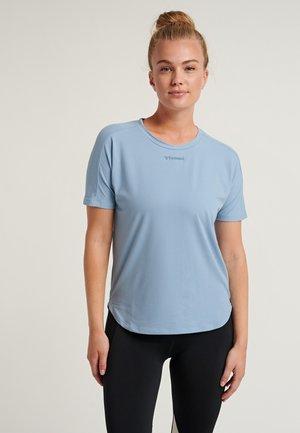 LREESE - T-Shirt basic - faded denim