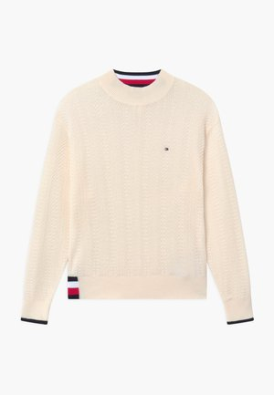 GLOBAL STRIPE  - Pullover - ivory petal