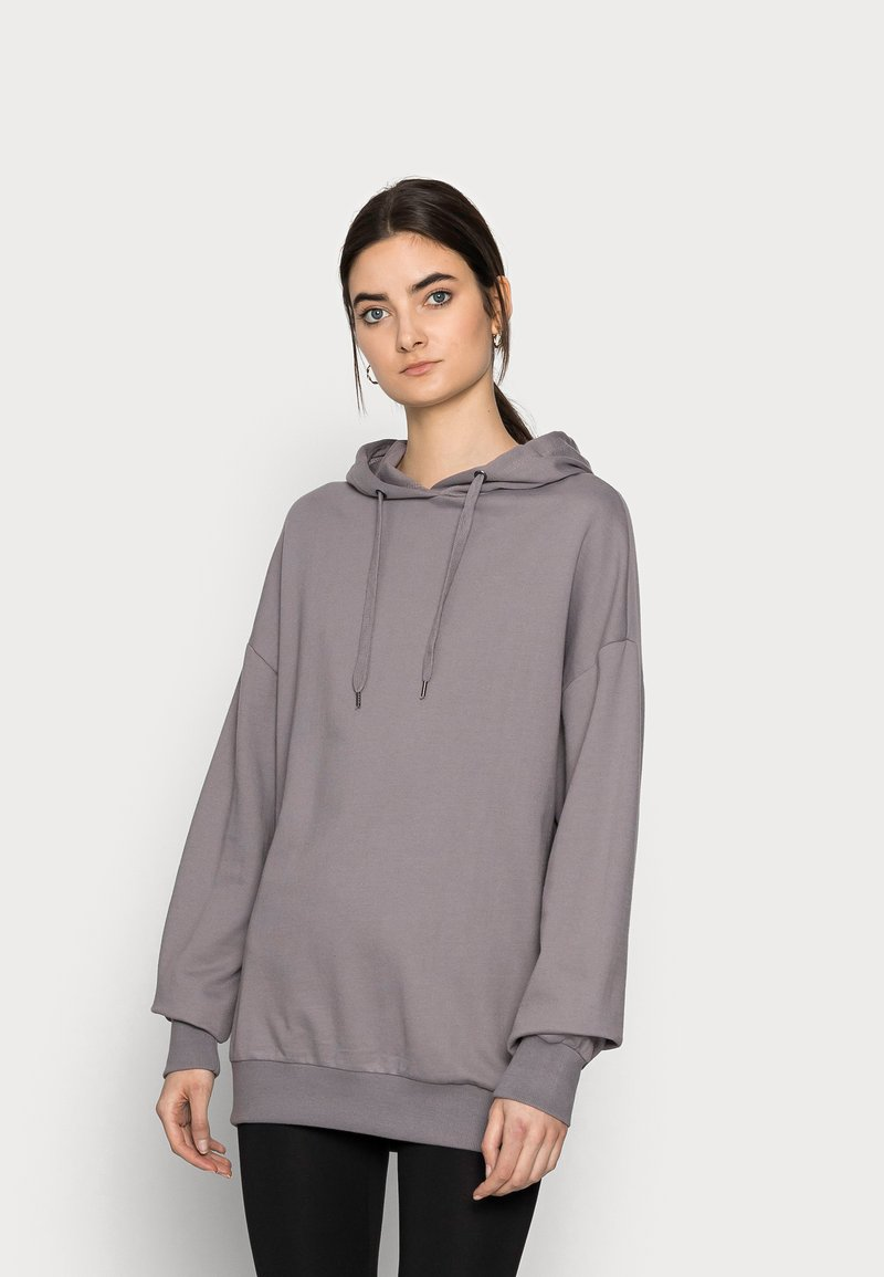 Even&Odd Tall - HOODIE OVERSIZE  - Hoodie - dark grey