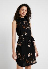 Vero Moda - VMCALLIE SMOCK DRESS - Day dress - black - 0