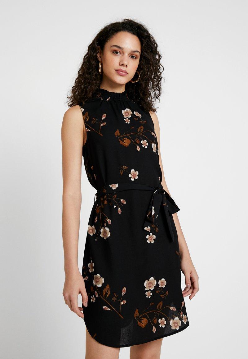 Vero Moda - VMCALLIE SMOCK DRESS - Day dress - black