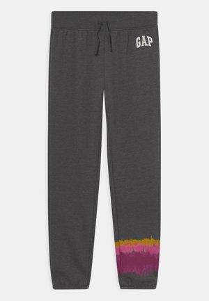 GIRL LOGO - Pantalones deportivos - dark grey