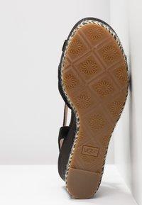 UGG - MELISSA - Højhælede sandaletter / Højhælede sandaler - black - 6