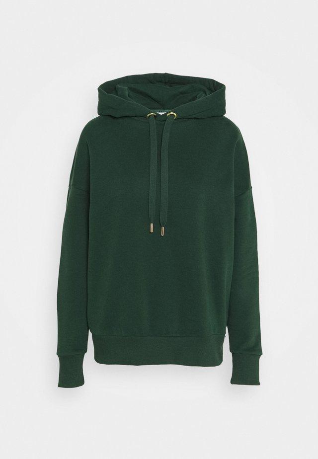 HOODIE - Mikina skapucí - emerald green