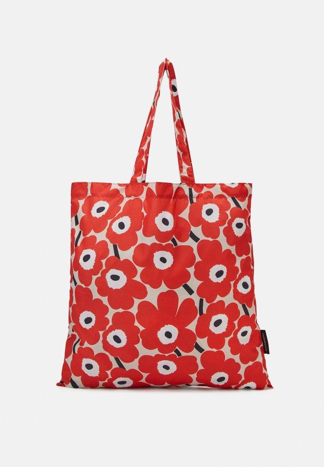 KIOSKI LOPULTA PIENI UNIKKO - Shopping bags - red/beige/black