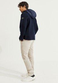 Ecoalf - Zip-up sweatshirt - azul - 2