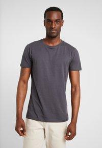 Esprit - ICON 2 PACK - T-shirt z nadrukiem - anthracite - 1