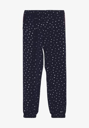 PRINTED CUFFED PANTS - Trousers - blue