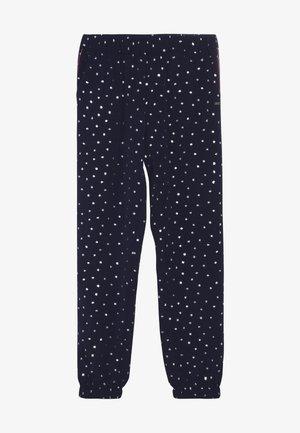 PRINTED CUFFED PANTS - Broek - blue