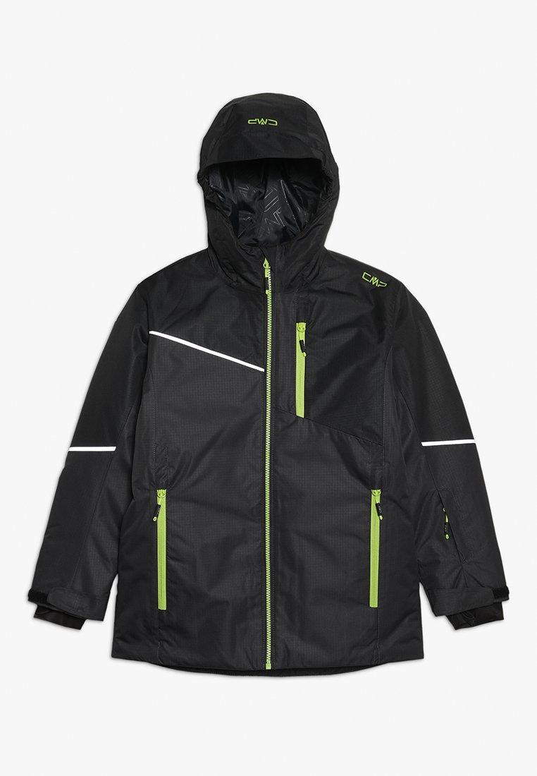 CMP - BOY JACKET FIX HOOD - Ski jacket - antracite