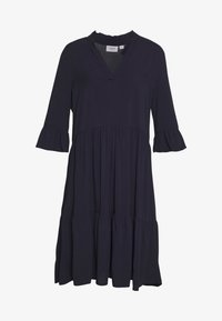 Saint Tropez - EDASZ SOLID DRESS - Hverdagskjoler - blue deep - 4