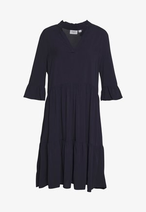 EDASZ SOLID DRESS - Day dress - blue deep