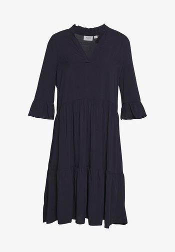 EDASZ SOLID DRESS - Day dress - blue deep