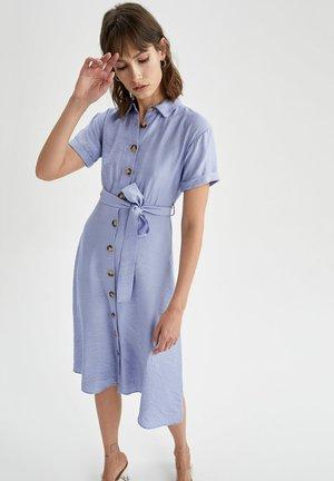 Vestido camisero - blue