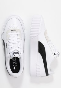 Puma - CARINA LIFT - Trainers - white/black - 3