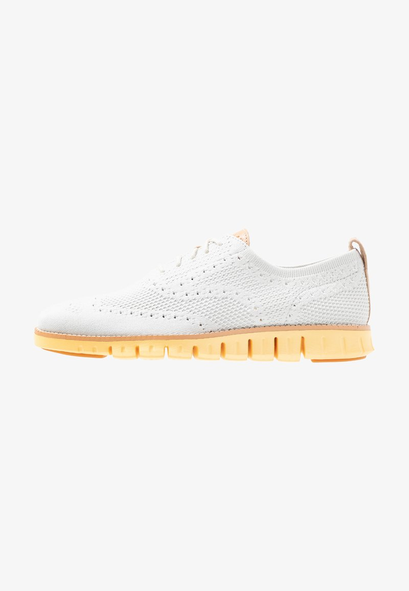 Cole Haan - ZEROGRAND STITCHLITE OXFORD - Chaussures à lacets - glacier gray/sunset gold