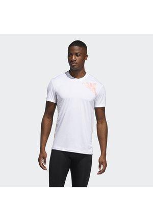ALPHASKIN 2.0 SPORT FITTED T-SHIRT - Print T-shirt - white