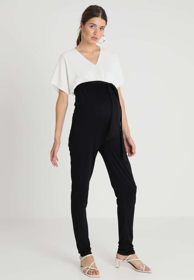 LAETICIA - Jumpsuit - black/white