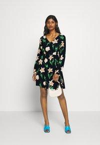 Vero Moda Petite - VMBETTY DRESS - Day dress - navy - 1