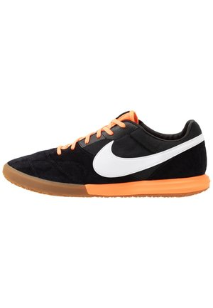 PREMIER II SALA IC - Chaussures de foot en salle - black/white/total orange