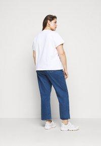 Levi's® Plus - VARSITY TEE - Print T-shirt - multicolor/white - 2
