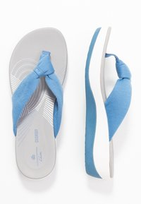 Cloudsteppers by Clarks - ARLA GLISON - T-bar sandals - mid blue - 3