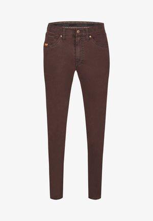 HENRY - Slim fit jeans - bordeux