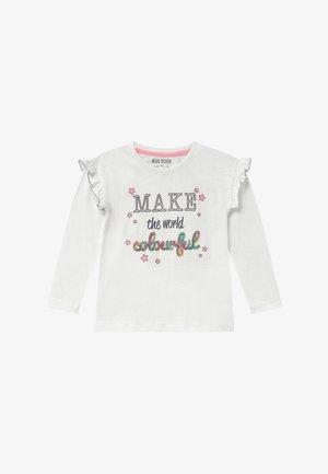 KIDS RAINBOW - Long sleeved top - offwhite