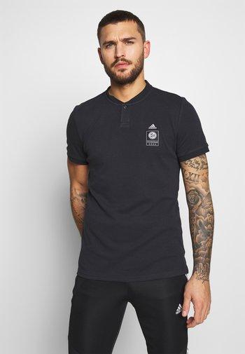 DFB DEUTSCHLAND POLO - T-shirt print - black