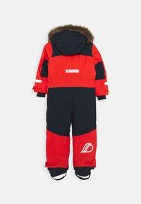 Didriksons - BJÖRNEN KIDS COVER - Snowsuit - poppy red - 1