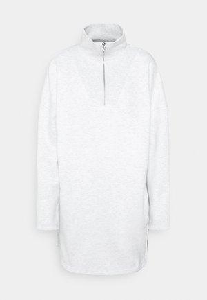 PLAYBOY VARISTY ZIP DRESSES - Jurk - grey marl