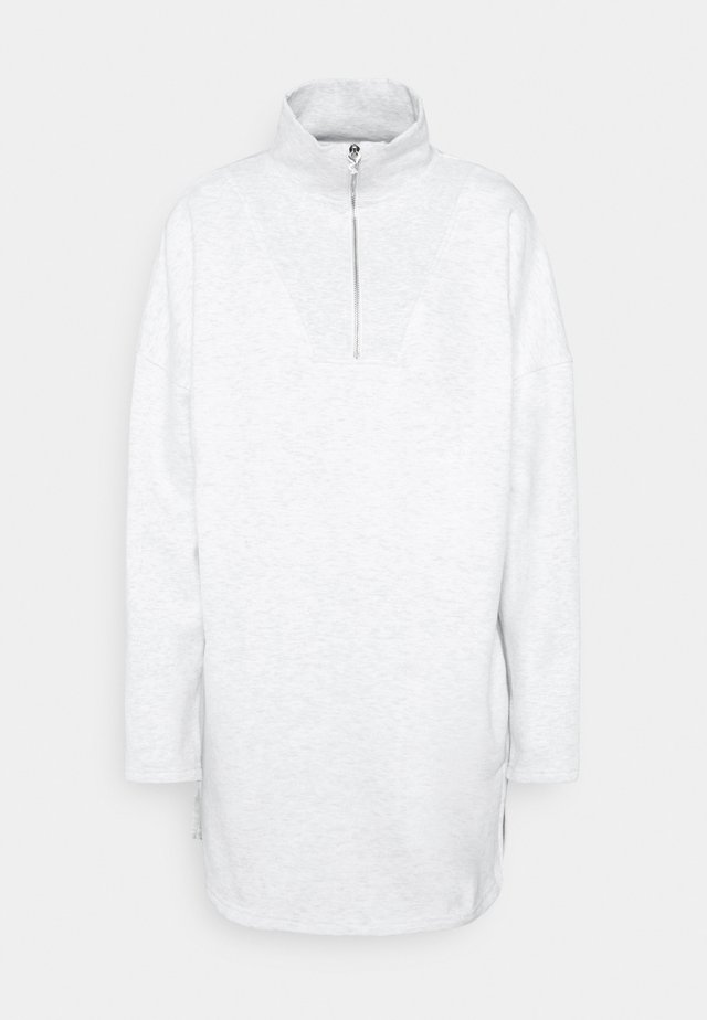 PLAYBOY VARISTY ZIP DRESSES - Day dress - grey marl