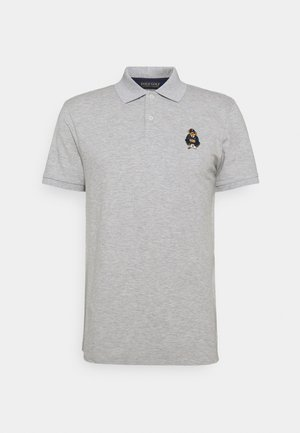 BEAR SHORT SLEEVE - Polo - light grey heather