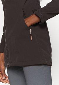 Icepeak - UHRICHSVILLE - Soft shell jacket - anthrazit - 5