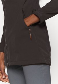 Icepeak - UHRICHSVILLE - Soft shell jacket - anthrazit - 4