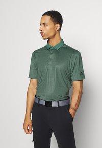 adidas Golf - ULTIMATE 365 SHORT SLEEVE  - Polotričko - tech emerald/legend earth - 0