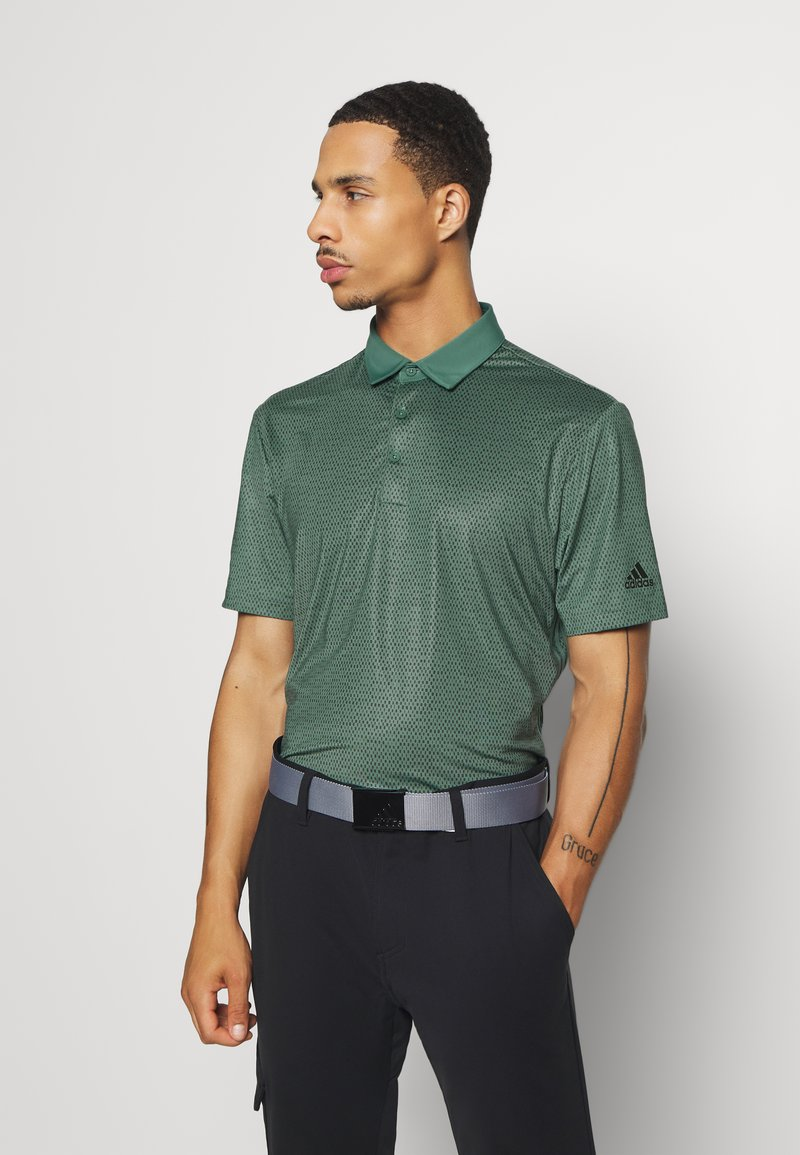 adidas Golf - ULTIMATE 365 SHORT SLEEVE  - Polotričko - tech emerald/legend earth