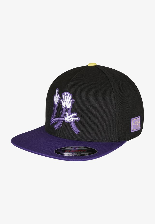 Cappellino - black/purple