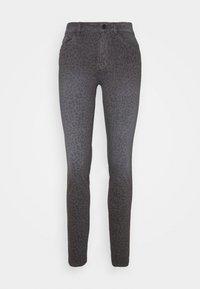 TOM TAILOR - ALEXA SLIM PRINTED - Slim fit jeans - dark grey - 0