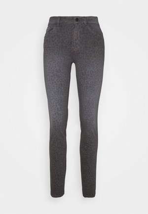 ALEXA SLIM PRINTED - Slim fit jeans - dark grey