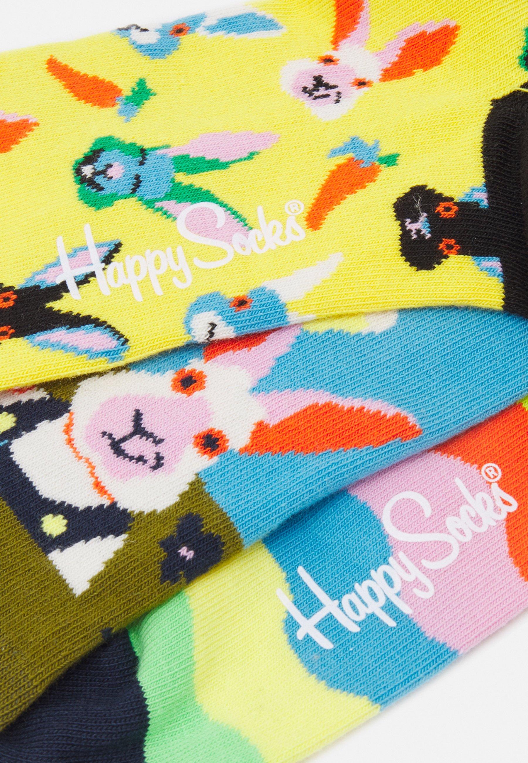 Men EASTER SOCKS GIFT 3 PACK UNISEX - Socks