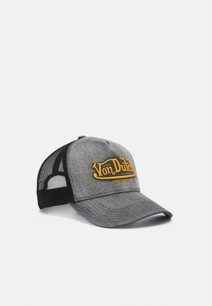 TRUCKER UNISEX - Cappellino - washed black