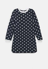 Petit Bateau - LAURYNE ROBE - Jersey dress - smoking/marshmallow - 0