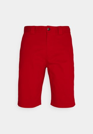 SCANTON - Shorts - deep crimson